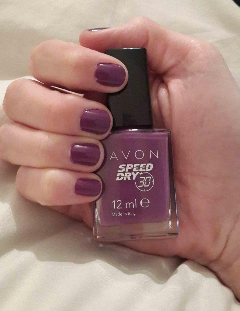 mani monday pronto purple