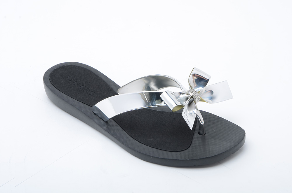 RUBBER THONG SILVER - R499
