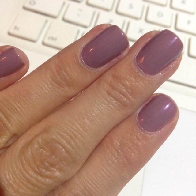 Mani Monday 5 Jan secluded beach by revlon